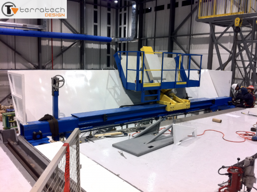 Floor Extension Assembly Installation