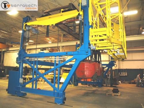 Gantry Load Testing To 18 Ton