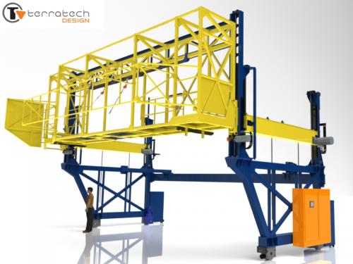 Positioning Gantry (12 ton capacity)